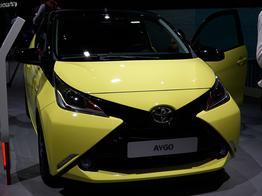 Toyota Aygo, Das Bild ist ein beliebiges Beispiel der frei konfigurierbaren Modellreihe