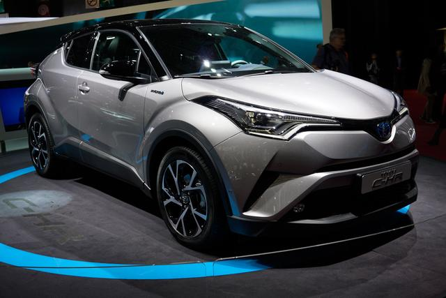 Toyota C-HR - 1.2-l-Turbo Lounge