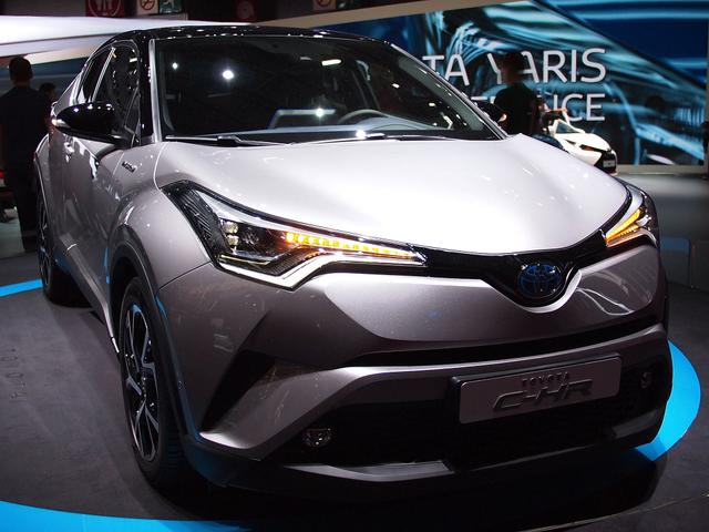 C-HR - C-HIC 1.8 Hybrid 122PS CVT 2018