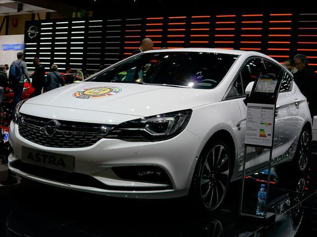 Opel Astra 5-Türer - 1.0 Turbo Business 66kW S/S