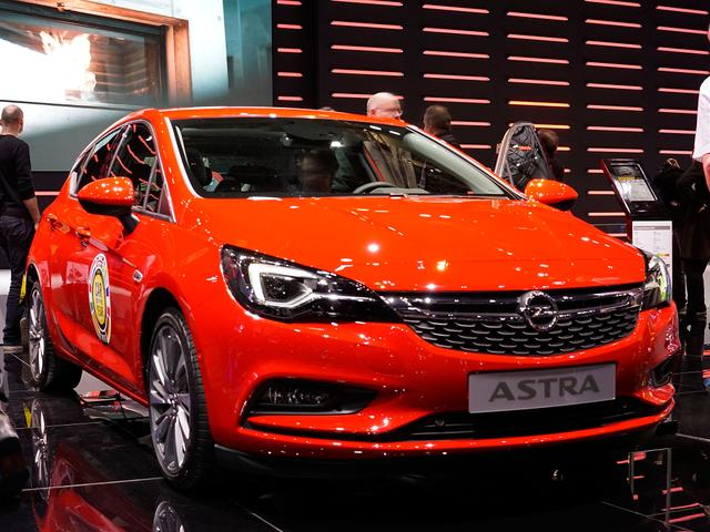 Opel Astra 5-Türer - 1.4 Turbo Ultimate 110kW S/S