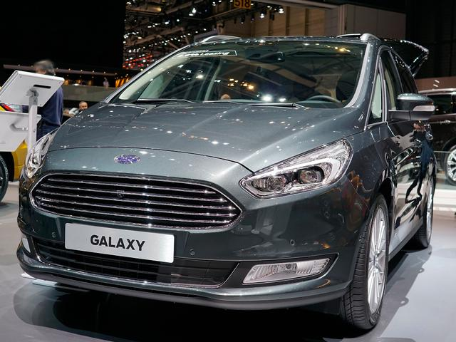 Ford Galaxy Titanium Facelift