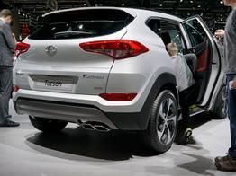 Hyundai Tucson, Beispielbilder, ggf. teilweise mit Sonderausstattung