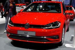 VW Golf, Beispielbilder, ggf. teilweise mit Sonderausstattung