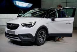 Opel Crossland X, Das Bild ist ein beliebiges Beispiel der frei konfigurierbaren Modellreihe