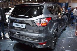 Ford Kuga, Das Bild ist ein beliebiges Beispiel der frei konfigurierbaren Modellreihe