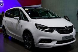 Opel Zafira, Das Bild ist ein beliebiges Beispiel der frei konfigurierbaren Modellreihe