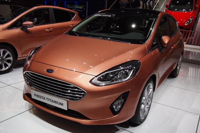Ford Fiesta      1,0 EcoBoost 92kW Active Automatik