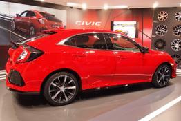 Honda Civic, Das Bild ist ein beliebiges Beispiel der frei konfigurierbaren Modellreihe
