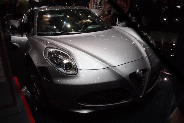 Alfa Romeo 4C Spider - 1.8 TBi 16V