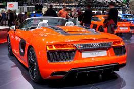 Audi R8 Spyder, Das Bild ist ein beliebiges Beispiel der frei konfigurierbaren Modellreihe