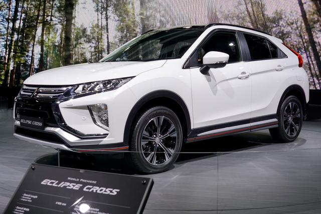 Mitsubishi Eclipse Cross - Intense+ 1.5T 163PS CVT 2018