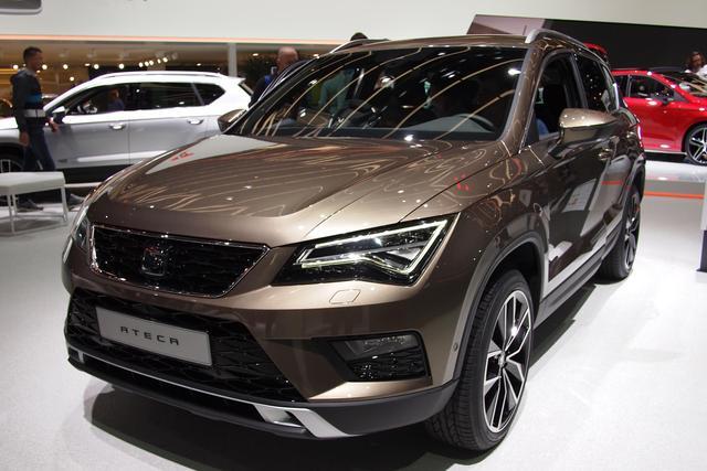 kurzfristig lieferbares Fahrzeug Ateca - Xcellence 1.6 TDI 115PS DSG 2019