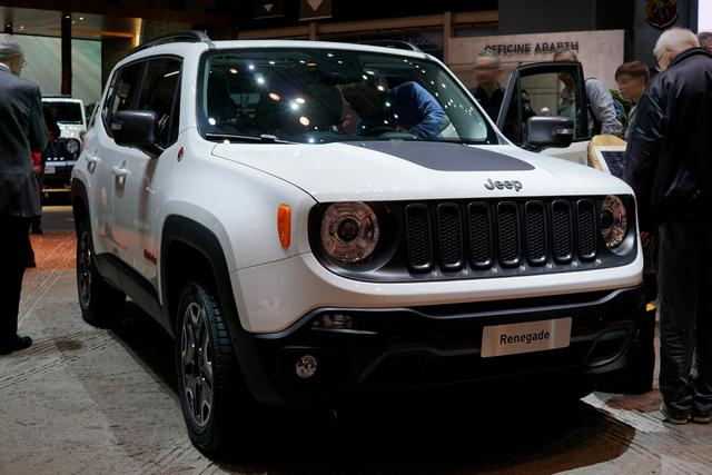 Jeep Renegade - 1.0l T-GDI I3 Longitude Front