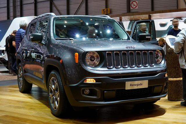 Jeep Renegade - 1.0l T-GDI I3 Night Eagle Front