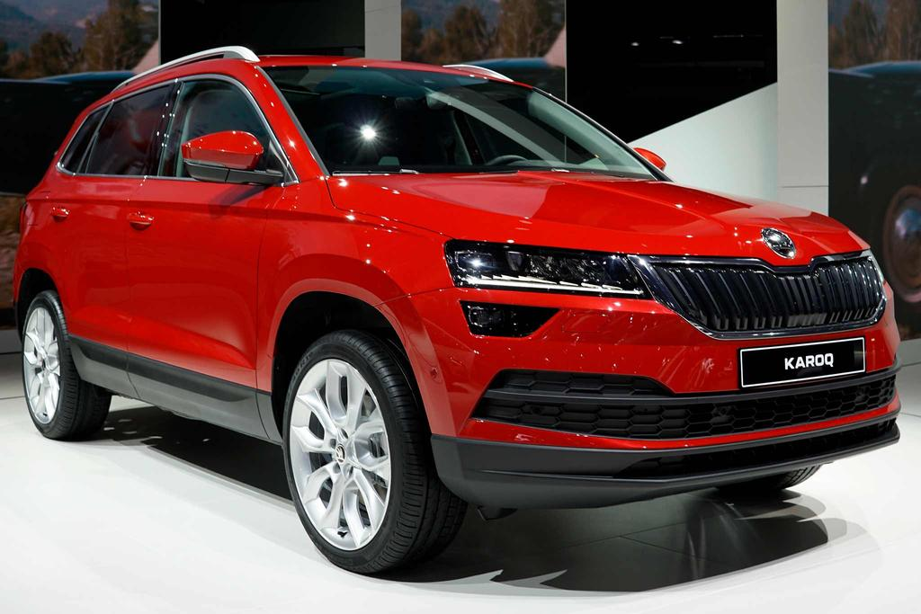 skoda karoq ambition 5 jahre garantie bei eu. Black Bedroom Furniture Sets. Home Design Ideas
