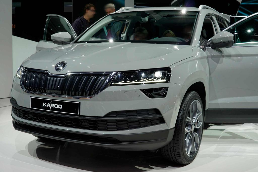 skoda karoq 1 5 tsi act ambition beim autodiscountnord. Black Bedroom Furniture Sets. Home Design Ideas