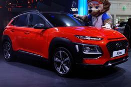 Hyundai Kona, Das Bild ist ein beliebiges Beispiel der frei konfigurierbaren Modellreihe