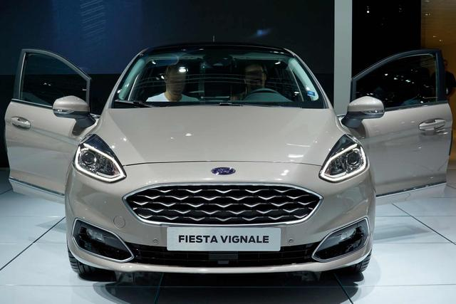 Ford Fiesta 1,0 EcoBoost 92kW Vignale Automatik