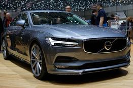 Volvo S90, Beispielbilder, ggf. teilweise mit Sonderausstattung