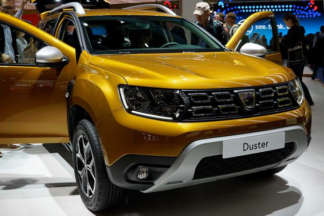 Dacia Duster - Access