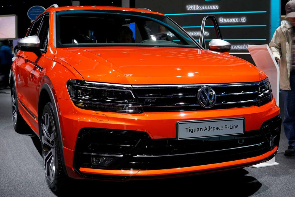 volkswagen tiguan allspace comfortline eu neuwagen dortmund. Black Bedroom Furniture Sets. Home Design Ideas
