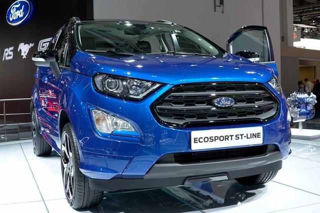 Ford EcoSport 1,0 EcoBoost 92kW ST-Line
