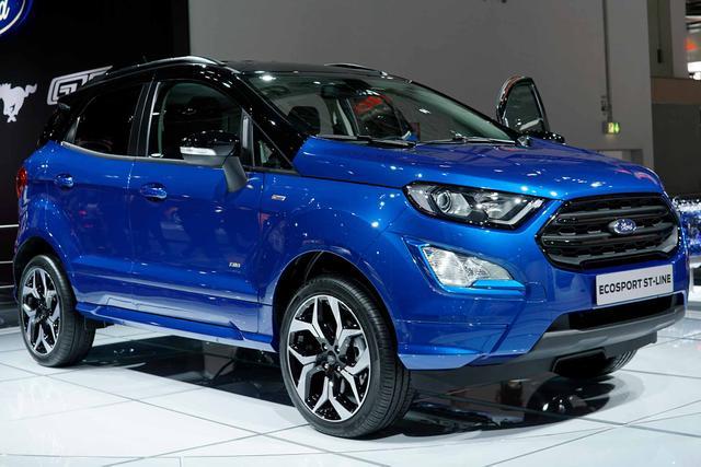 Bestellfahrzeug, konfigurierbar Ford EcoSport - Titanium FWD 1.0l EcoBoost 125 Klimaaut Temp DAB PDC LMF