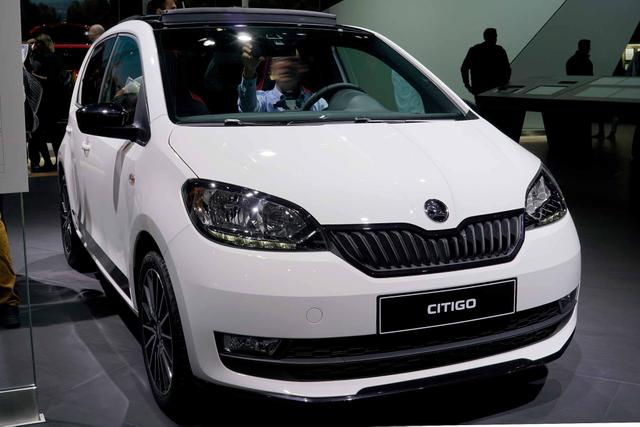Skoda Citigo - Ambition 1,0 MPI Radio Blues ZV el FH 5 Ja. Garantie