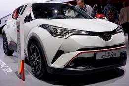 Toyota C-HR - C-ENTER 1.8 Hybrid 122PS CVT 2018