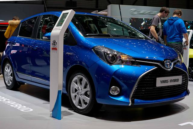Toyota Yaris - 1,0-l--VVT-i