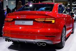 Audi S3, Das Bild ist ein beliebiges Beispiel der frei konfigurierbaren Modellreihe