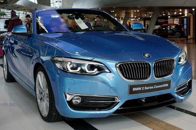 BMW 2er Cabrio - 218d Luxury Line