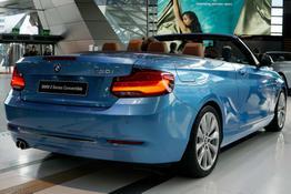 BMW 2er Cabrio, Das Bild ist ein beliebiges Beispiel der frei konfigurierbaren Modellreihe
