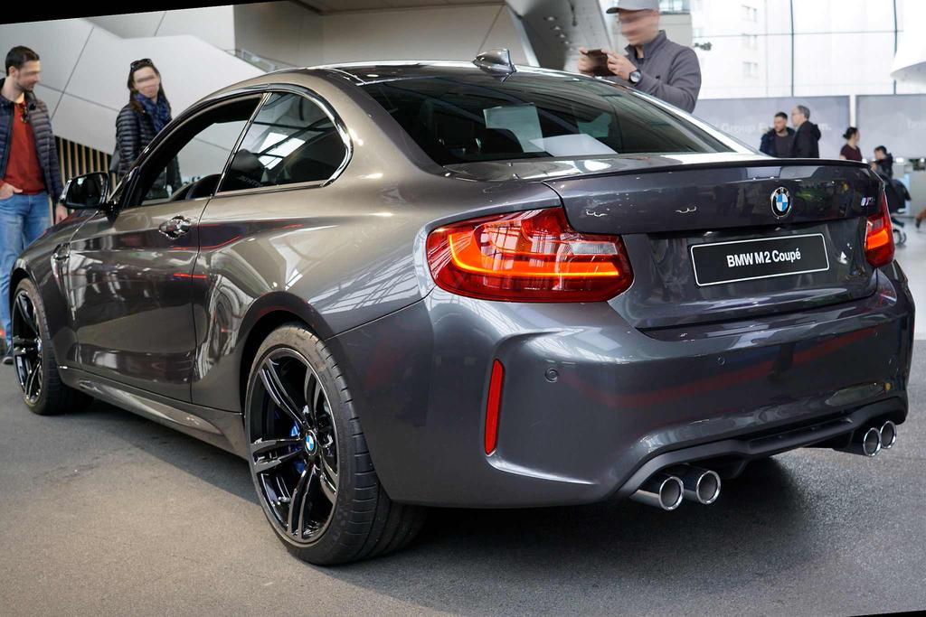 bmw 2er coup m2 edition black shadow auto bauer. Black Bedroom Furniture Sets. Home Design Ideas