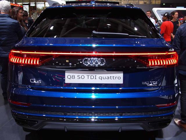 Audi Q8 - 55 TFSI quattro tiptronic
