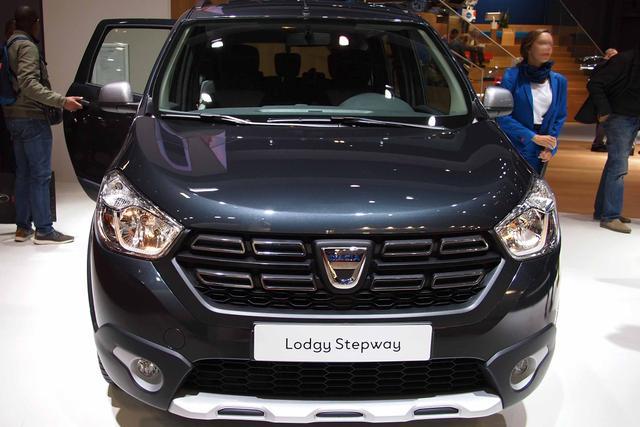Dacia Lodgy 7-Sitzer Stepway