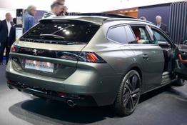 Peugeot, Das Bild ist ein beliebiges Beispiel der frei konfigurierbaren Modellreihe
