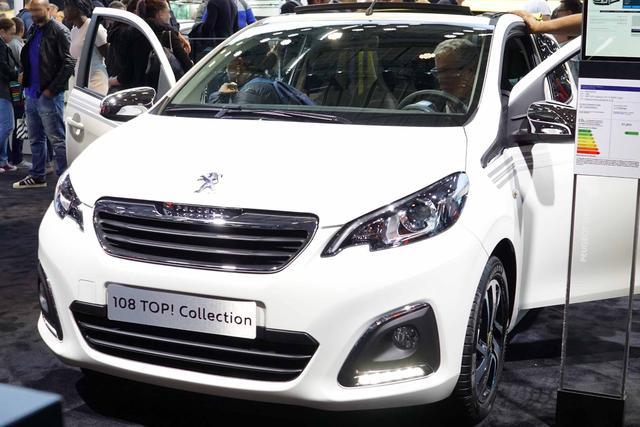 Lagerfahrzeug Peugeot 108 - Active Klimaanlage Radio Bluetooth