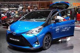 Toyota Yaris, Beispielbilder, ggf. teilweise mit Sonderausstattung