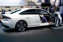 Peugeot 508, Das Bild ist ein beliebiges Beispiel der frei konfigurierbaren Modellreihe