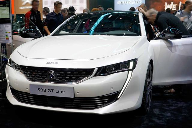 Bestellfahrzeug, konfigurierbar Peugeot 508 - BlueHDi 180 EAT8 GT