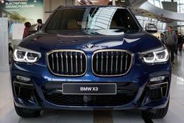 BMW X3, Beispielbilder, ggf. teilweise mit Sonderausstattung