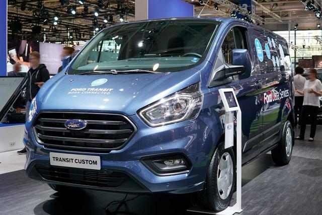 Ford Transit Custom DOKA