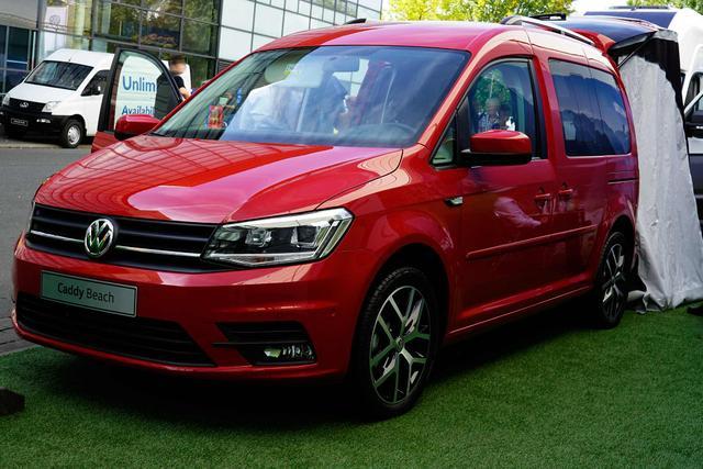 Lagerfahrzeug Volkswagen Caddy - Beach 2.0TDI Navi SHZ Standheizung