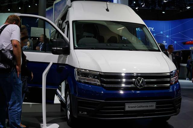 Volkswagen Grand California - 680 - Gasheizung, Küche, Längsschläfer Bestellfahrzeug