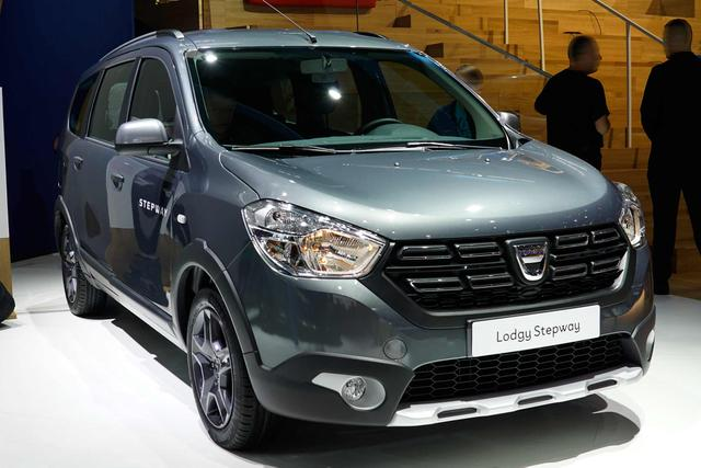 Dacia Lodgy - Stepway 1.5 Blue dCi 90PS 6G 7-Sitzer 2019