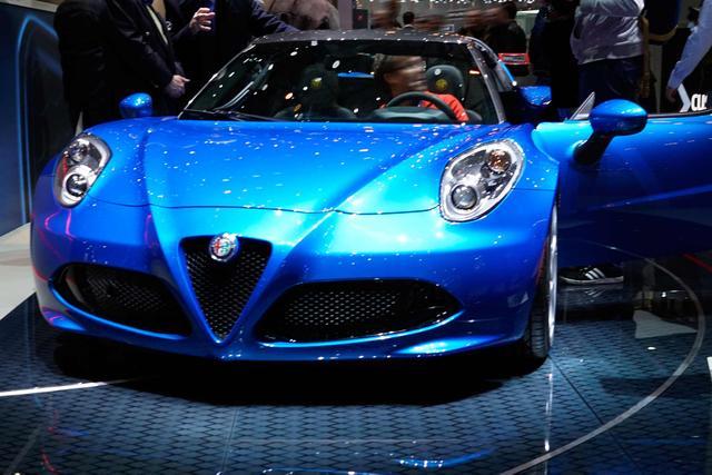 Alfa Romeo 4C - 1.8 TBi 16V
