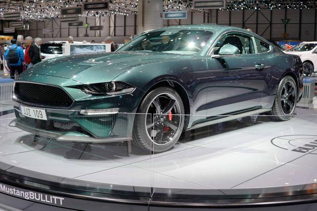 Vorlauffahrzeug Ford Mustang - Bullitt 5.0 -LIMITIERTE EDITION-