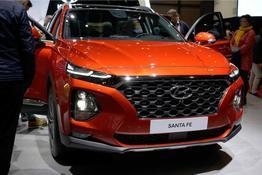 Hyundai Santa Fe, Beispielbilder, ggf. teilweise mit Sonderausstattung